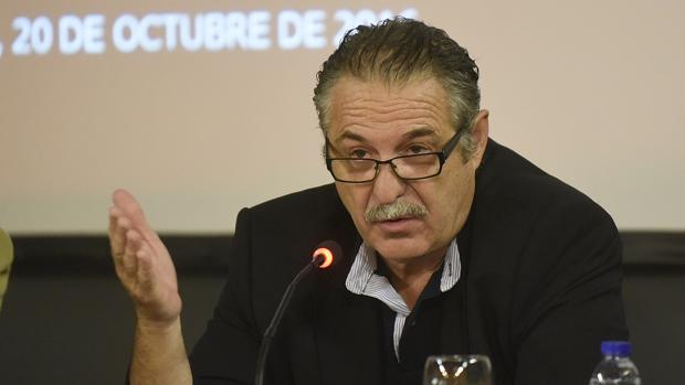 Ángel Díaz del Río en unas jornadas
