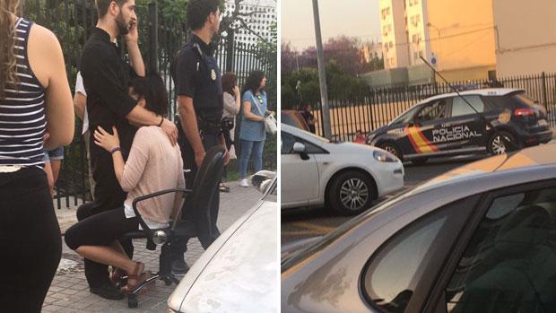 La Policía Nacional actuó para evitar el intento de robo de un móvil y rapto de una niña cerca de La Barzola