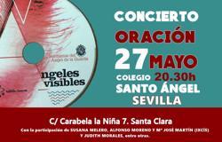 Cartel del concierto-oración