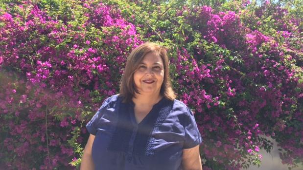 Mamen Gil es periodista, trabaja en la radio y teme quedarse sin voz y aturrullarse