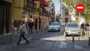 Un tramo de la calle San Luis