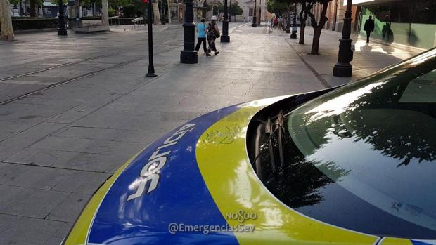 La Policía Local patrullando por el Centro de la ciudad