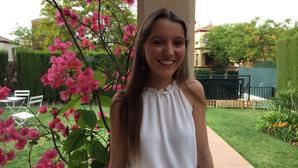 Reyes López es alumna del Colegio San José de Sevilla