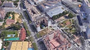 El solar de Ramón Carande donde irán las nuevas viviendas