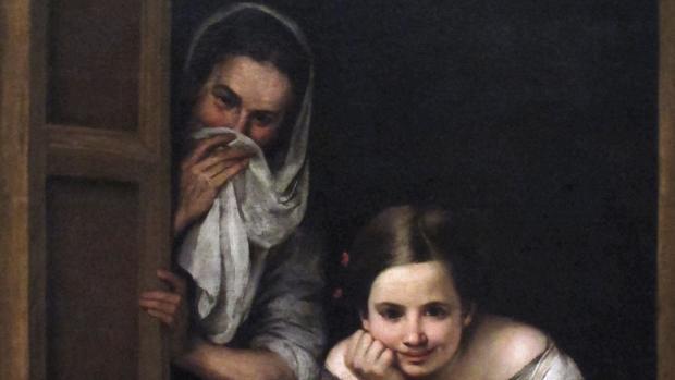 Obra de Murillo «Mujeres en la ventana»