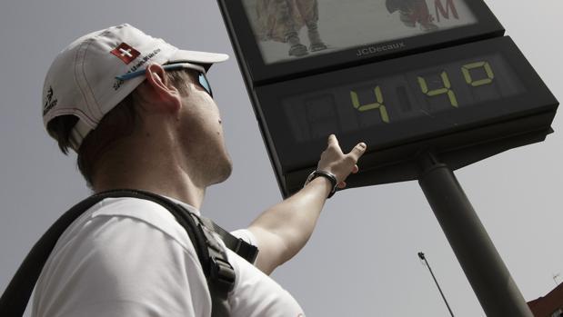 Los termómetros volverán a dispararse esta semana