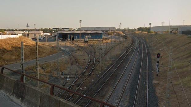 Estación de carga ferroviaria de La Negrilla