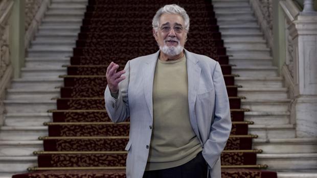 El tenor y director, Plácido Domingo
