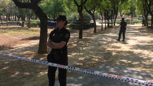El cuerpo ha sido descubierto en la mañana de este jueves en el interior del Parque Amate