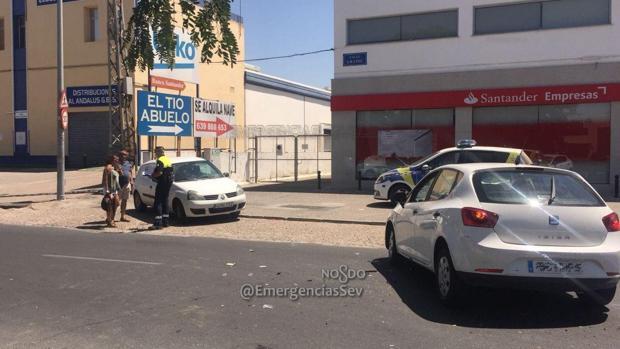 La colisión se produjo en la calle Gramil, en la zona norte de la ciudad