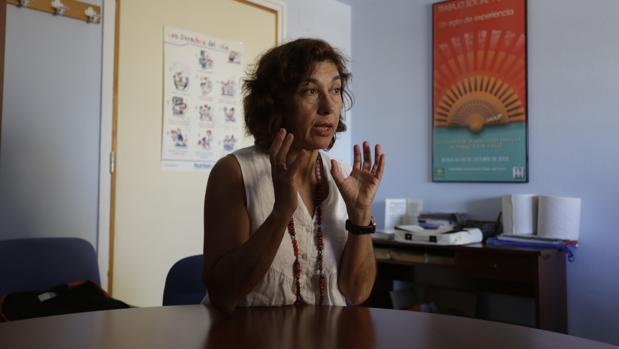 Agustina Hervás, jefa de la Unidad de Trabajo Social y Participación Comunitaria del Virgen del Rocío