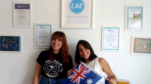 El equipo sevillano de Latino Australia Euducation (LAE)
