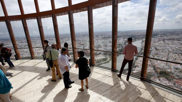 Las vistas que tendrá el hotel de Torre Sevilla