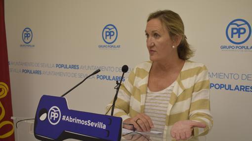 María del Mar Sánchez Estrella, ayer en rueda de prensa