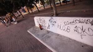 Imagen de archivo de la «Plaza del Óvalo» en Los Corrales (Pino Montano)