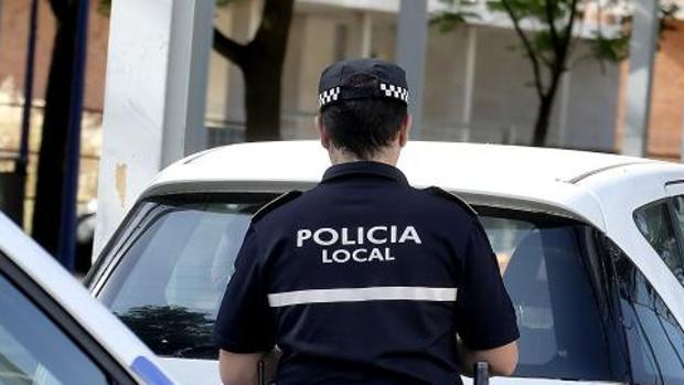 Un agente de la Policía Local de Sevilla