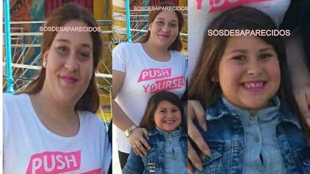 Sandra Capitán y Lucía Begines, la madre y la hija sevillanas desaparecidas en «extrañas circunstancias»