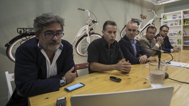 Acto de presentación del Plan Estratégico de la Bicicleta para Sevilla 2020