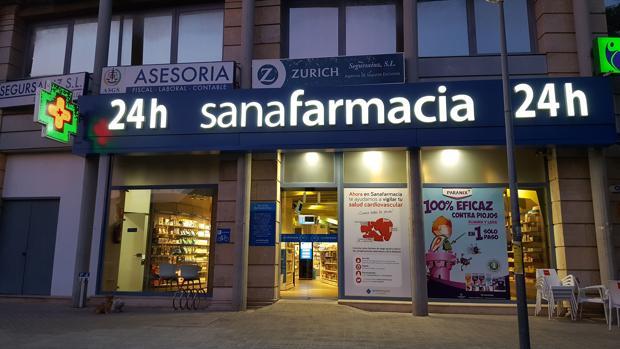 Farmacia ubicada en Mairena del Aljarafe, que abre 24 horas