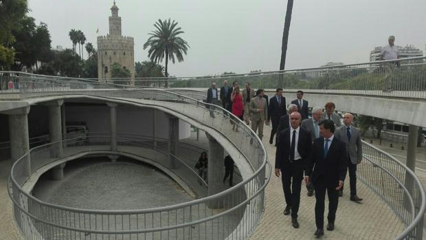 Presentación al sector del centro de gestión de datos turísticos de Sevilla, en Marqués de Contadero