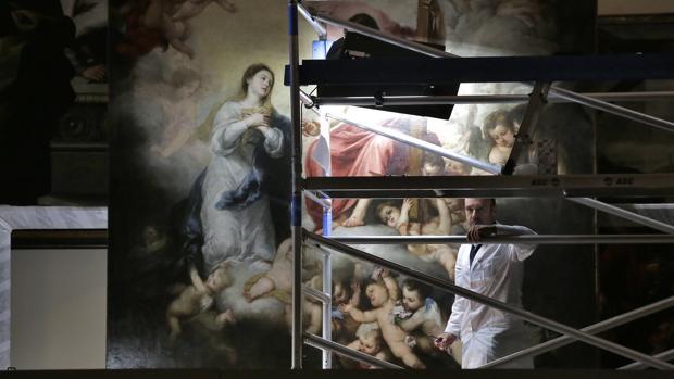 La exposición en el Espacio Santa Clara contará con algunas obras de Murillo