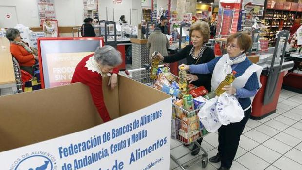 Más de 6.500 voluntarios participarán en a gran recogida de alimentos 2017