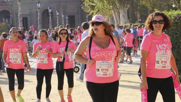 Más de 14.000 personas se quedaron sin la Carrera de la Mujer este domingo