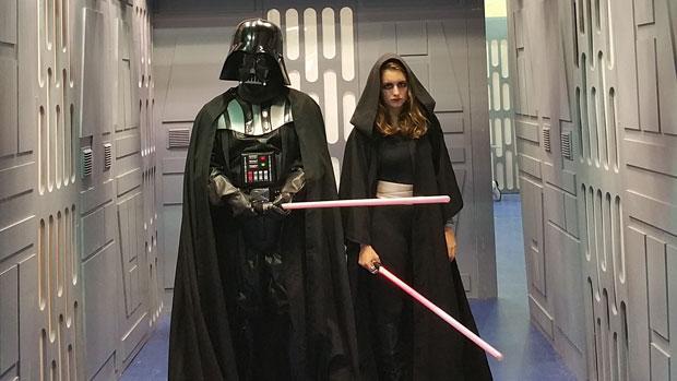 Los seguidores de «La Guerra de la Galaxia» se reúnen este fin de semana en el centro comercial Zona Este