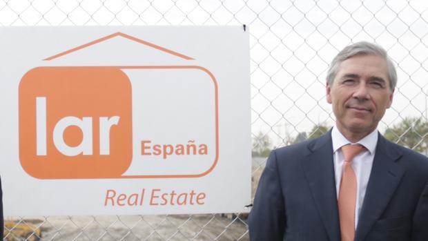 Miguel Pereda, presidente de la socimi Lar España Real Estate, promotora del centro comercial Palmas Altas
