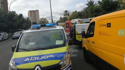 Policía y servicios sanitarios se personaron en la zona