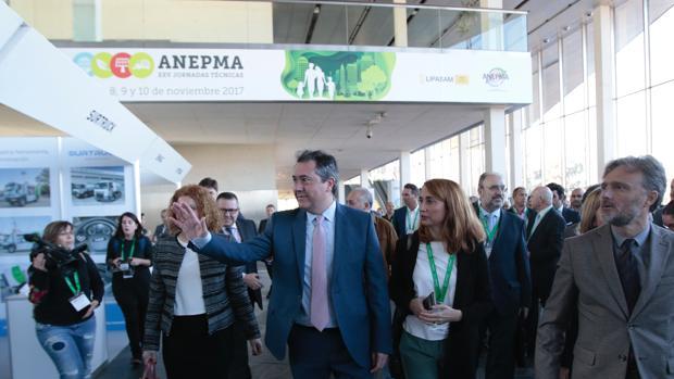 El alcalde de Sevilla Juan Espadas en las XXV jornadas técnicas de la asociación Nacional