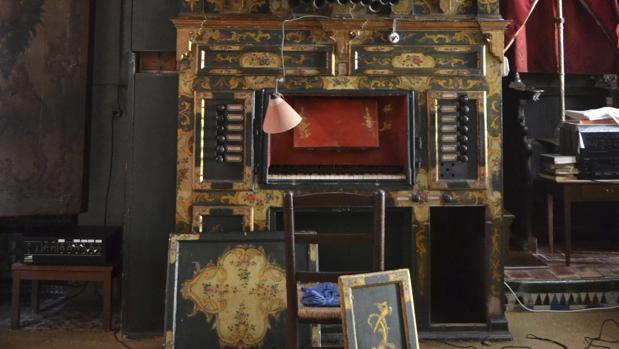 El órgano de Santa Inés