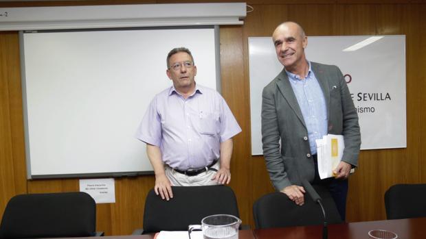 Antonio Muñoz e Ignacio Pozuelo, responsables de Urbanismo