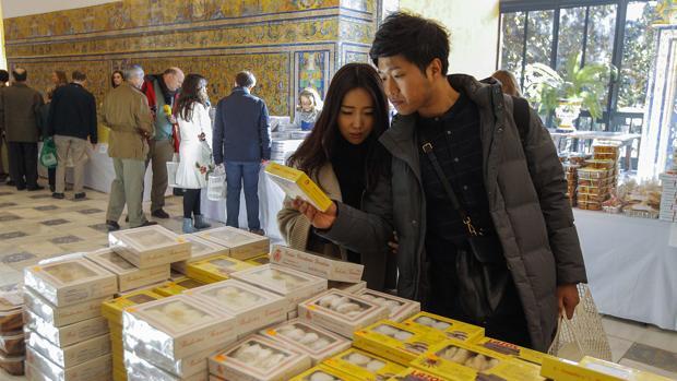 La muestra de dulces de conventos en el Alcázar