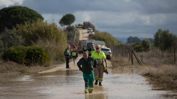 El descarrilamiento vino motivado por el agua y el fango