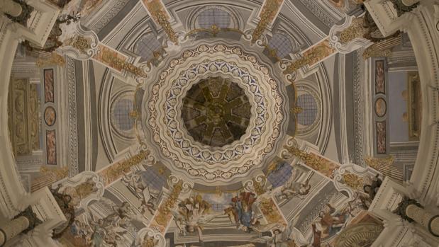 La cúpula de San Luis de los Franceses en Sevilla