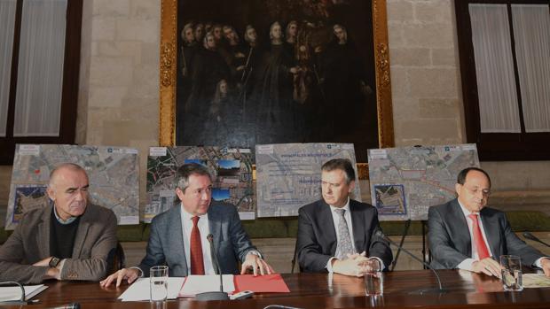 Presentación del convenio de colaboración para el proyecto de Endesa en Sevilla Este