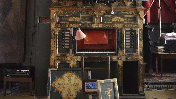 Imagen de archivo del órgano de Santa Inés
