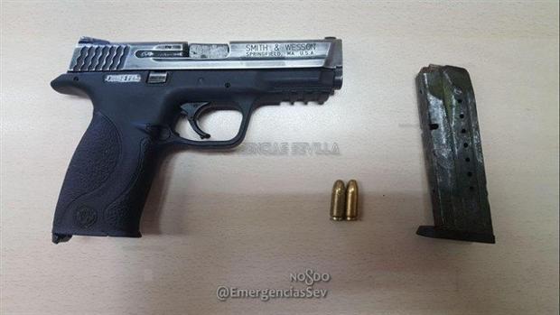 Arma incautada