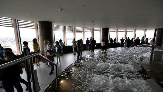 Imagen del spa del Hotel de Torre Sevilla