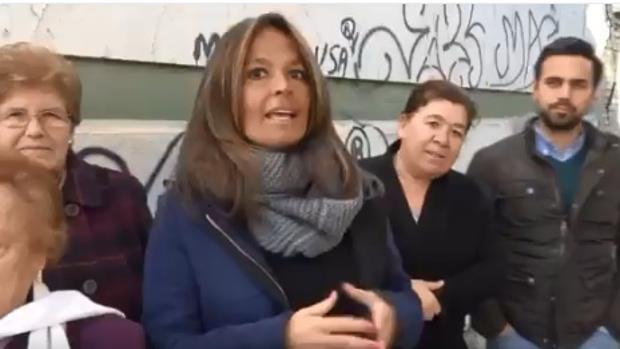 La concejal popular Evelia Rincón