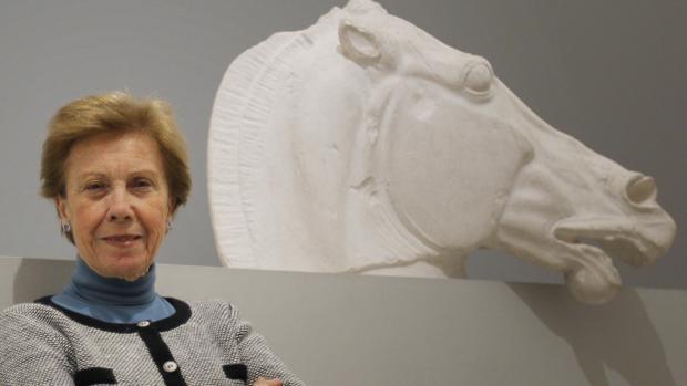 Pilar León-Castro, catedrática emérita de Arqueología en la Universidad de Sevilla