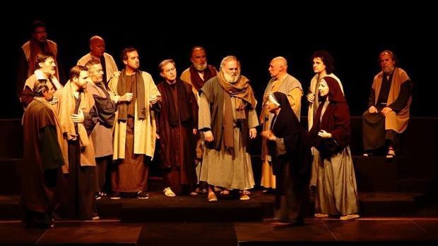 Escena de Agnus Dei (La pasión)