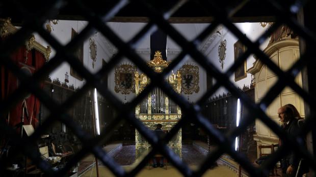 El órgano de Santa Inés, ya reparado