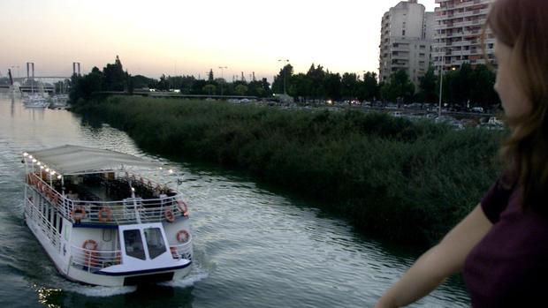 Vistas del río desde el puente de los Remedios