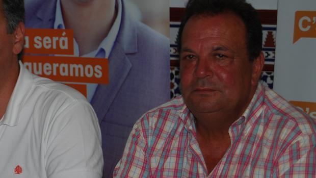 El portavoz de Ciudadanos en Dos Hermanas, Pedro Taborda