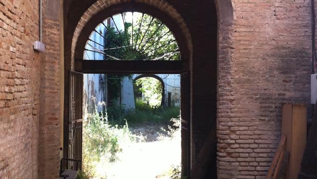 Convento de Santa Clara, en estado ruinoso