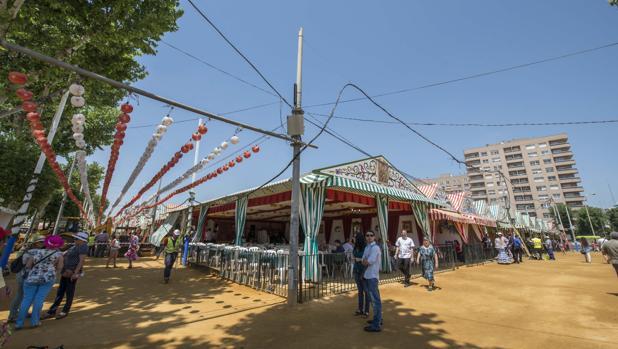 Recinto de la Feria de Sevilla