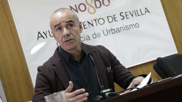 El delegado de Hábitat Urbano, Cultura y Turismo, Antonio Muñoz