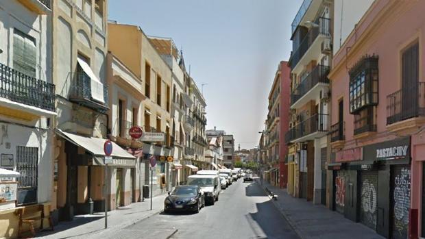 Vista general de la Calle Feria